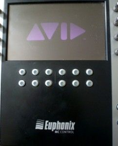 Euphonix Avid Artist Series MC Control V1 Pro Surface Media Controller