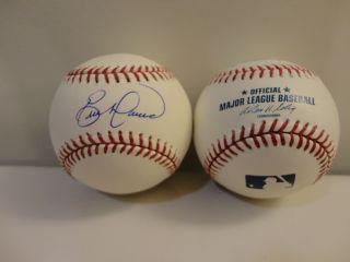 Eric Davis Hand Signed Autograph MLB Baseball Cincinnati Reds Orioles