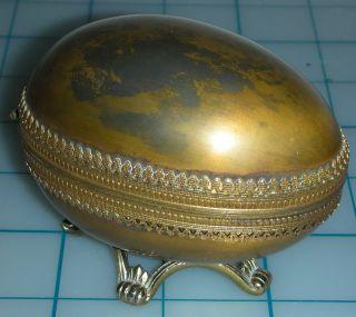 Vintage Evans Egg Table Lighter ◄••••