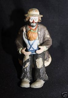 Emmett Kelly Jr Figurine Emmetts Fan