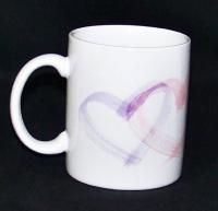 Hallmark Mother Linda Lee Elrod Hearts Coffee Mug Cup
