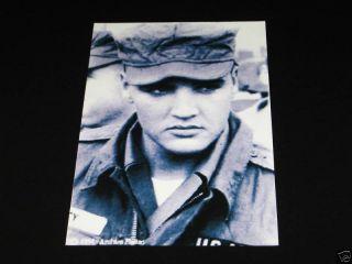 Elvis Presley U s Army T Shirt Black Size XL New