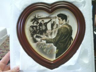 Bradford Exchange Rock Roll Collector Plate Elvis Presley Forever in