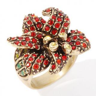 Heidi Daus Alluring Amaryllis Flower Ring
