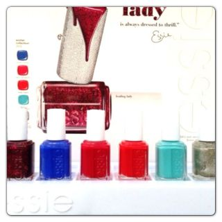 Essie Nail Polish Lacquer Winter Holiday Collection 2012 Leading Lady