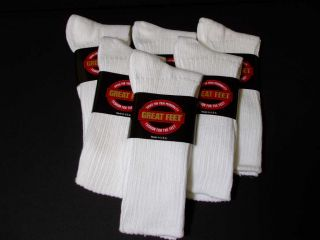 White Cotton Dress on Elders Mens 6 Pair White Cotton Ribbed Dress Socks