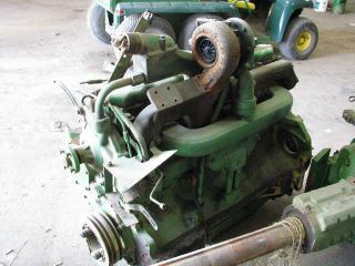 John Deere 4430 Complete Diesel Engine ID 289