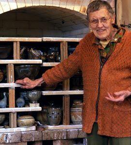 Frances Senska Studio Pottery Prehistoric Bird Figure Archie Bray