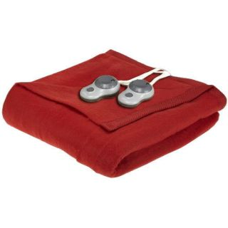 Sunbeam King Electric Heated Warming Blanket Clay Pot