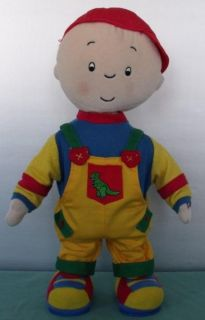 Caillou Singing Dancing Doll English French Cute
