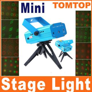 Mini Voice Control Laser Stage Lighting Projector KTV Party Disco Club