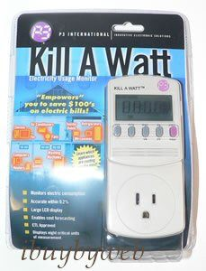 P3 Kill A Watt Electricity Usage Monitor Electric P4400