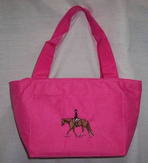 English Hunt Hunter Horse Cooler Lunch Box Bag Pink New