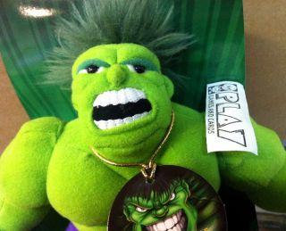 Plush Figure Figura Peluche Incredible Increible Hulk Nueva New