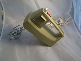 Vintage General Electric Hand Held Mixer Very Atomic