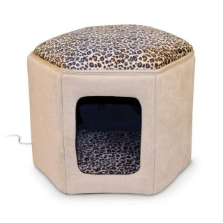 2in1 Electric Heater Heated Cat Pet House Sleeping Shelter Sofa