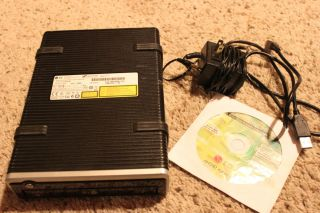 LG USB 2 0 External Super Multi Layer DVD Burner Rewriter Dual GSA