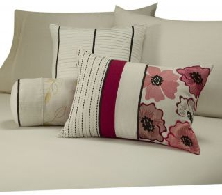 Vida by Eva Mendes Penelope Bedding Decorative Pillow Ensemble Kit