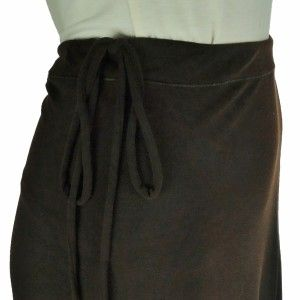 Eva Varro Womens Brown Wide Flare Leg Yoga Lounge Pants