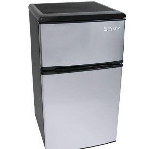 EdgeStar 3 1 CU ft Energy Star Stainless Steel Fridge Freezer