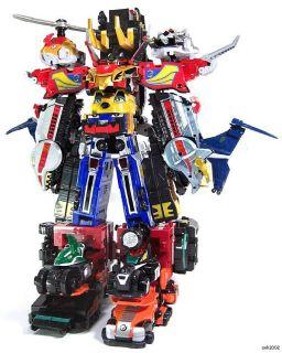 Bandai Japan Version Engine Sentai Go onger DX Engine Oh G12 Megazord