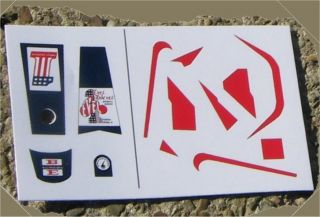Evel Knievel Stunt Cycle Stickers