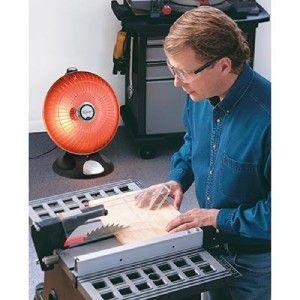 NEW Presto HeatDish Parabolic Electric Space Heater Footlight