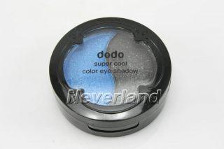 New Duo Colors Eyeshadow Eye Shadow Beauty makeup Black Blue