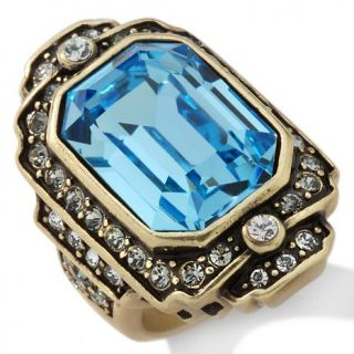 Heidi Daus Crystal Hue Persuasion North/South Ring