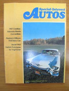 Special Interest Autos Magazine Issue 26 Jan Feb 1975