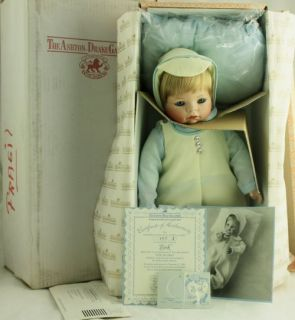 Ashton Drake Porcelain Doll Erik from The Heart by Theo Menzenbach w