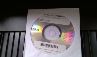 Epson Stylus SX105 Printer Scanner Small Handy Ink Color Only 4 KG WOW