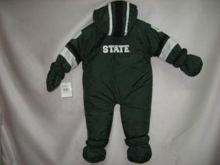 Michigan State University Spartans Snow Suit 18 Mon