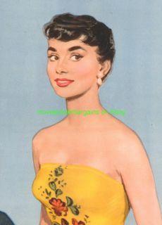 Sabrina Movie Poster Audrey Hepburn 1954 HS Style B Lb