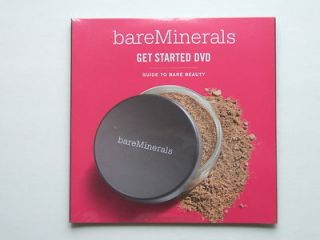 Bare ID Minerals Bare Escentials Essentials How to Instructional DVD