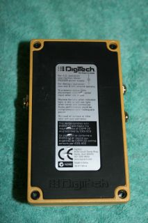 DigiTech Digiteck Eric Clapton Crossroads Guitar Pedal