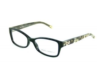 Dolce Gabbana Eyewear D G Reading Glasses DG 3119 Black 1926 New 52mm