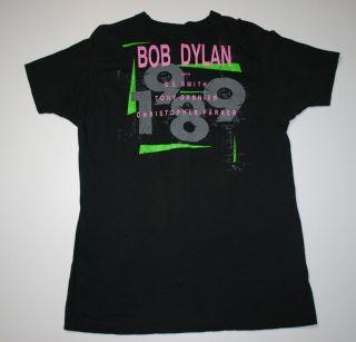 Vtg Bob Dylan Tony Garnier G E Smith Shirt 1988 XL