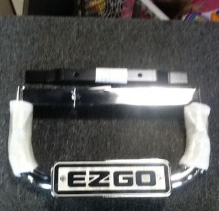 EZGO Golf Cart Special Edition Ornamental Nerf Bar with EZGO Logo for