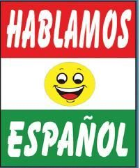 Hablamos Espanol 42 x 30 Under Hood Sign Car Dealers
