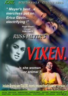 Russ Meyers Vixen New R1 DVD Erica Gavin