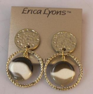 Erica Lyons Jewelry Earrings Clip on MSRP $45 Brand New