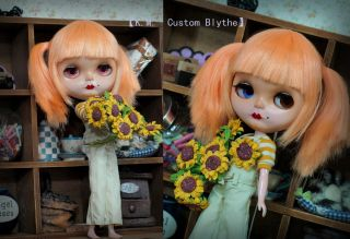 OOAK Custom Blythe doll By +K.M.+ の Kimono Girl