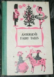ANDERSENS FAIRY TALES by HANS CHRISTIAN ANDERSEN 1956 HC junior deluxe