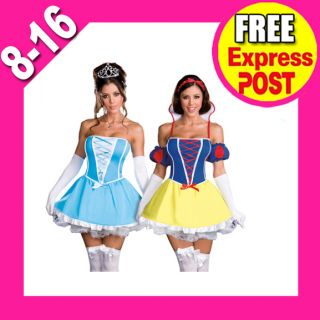 Fairy Tales Disney Princess Cinderella Snow White Fancy Dress Costume