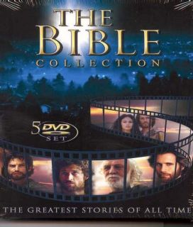 New Bible Collection 5 DVD Set $90RET Christian Movies