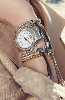 Michael Kors Watch Womens Chronograph Cameron 2 Tone Bracelet MK5603