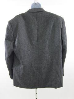 Fabio Inghirami Gray Wool Cashmere Blazer Jacket 46 Reg