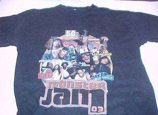 50 Cent Fabolous Lil John Ludacris Concert Tour T Shirt