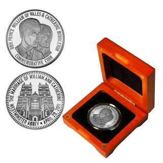 128 216 coin collector prince william and kate silver plated